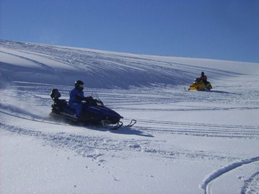 Snowmobiling in Lewis Hills, Newfoundland and Labrador-Picture#6.