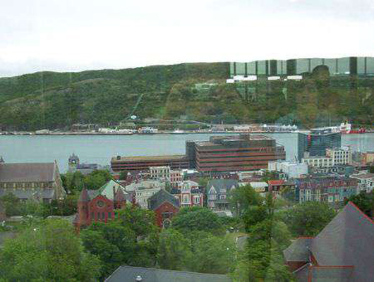 View #2, The Rooms, St. John's, Newfoundland and Labrador.