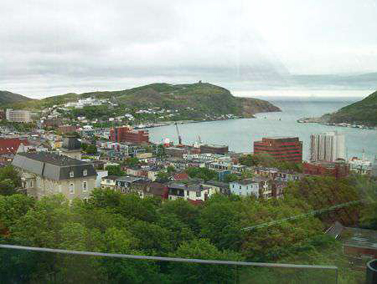View #3, The Rooms, St. John's, Newfoundland and Labrador.